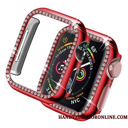 Apple Watch Series 3 Ny Belægning Strass Cover Etui Hård Ramme