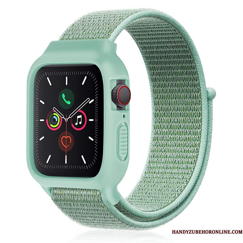 Apple Watch Series 3 Sport Ny Nylon Grøn Silikone Trend Etui