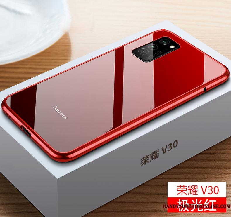 Honor View30 Cover Glas Beskyttelse Ramme Trend Net Red Etui