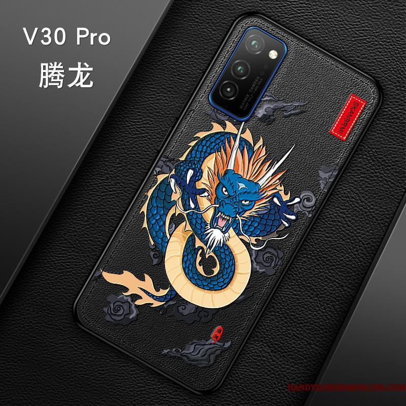 Honor View30 Pro Kreativ Mode Af Personlighed Vintage Cover Telefon Etui High End