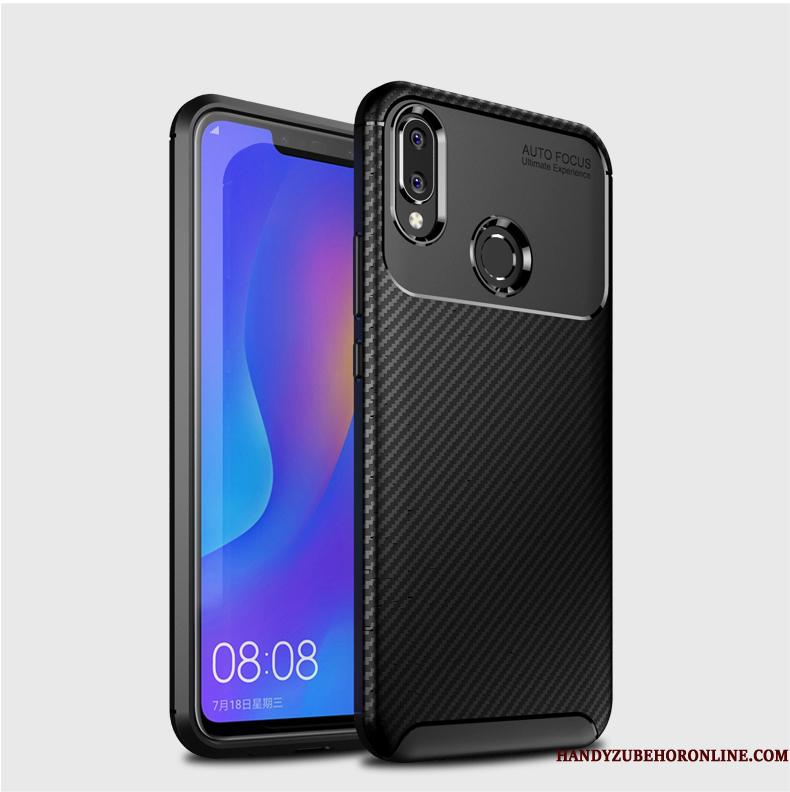 Huawei P Smart 2019 Etui Super Ungdom Let Tynd Cover Sort Blød Silikone