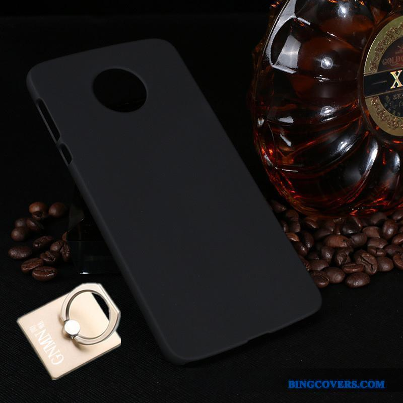 Moto Z2 Force Edition Nubuck Beskyttelse Sort Telefon Etui Hård Cover