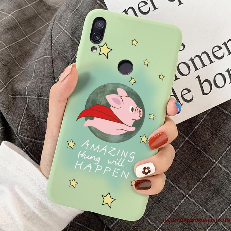 Redmi 7 Etui Anti-fald Smuk Cover Silikone Kreativ Cartoon Lille Sektion