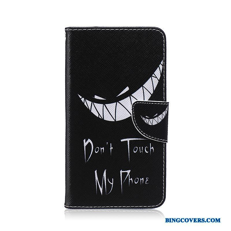 Samsung Galaxy Note 3 Cover Cartoon Beskyttelse Telefon Etui Stjerne Sort Folio