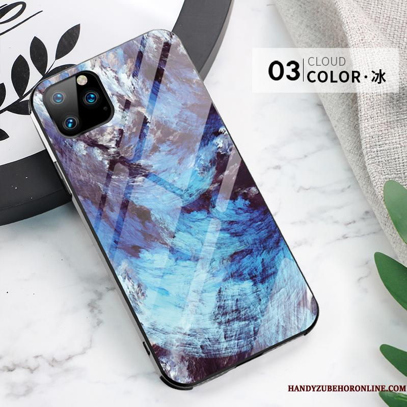 iPhone 11 Pro Max Etui Alt Inklusive Cover Anti-fald Ny Tynd High End Blå