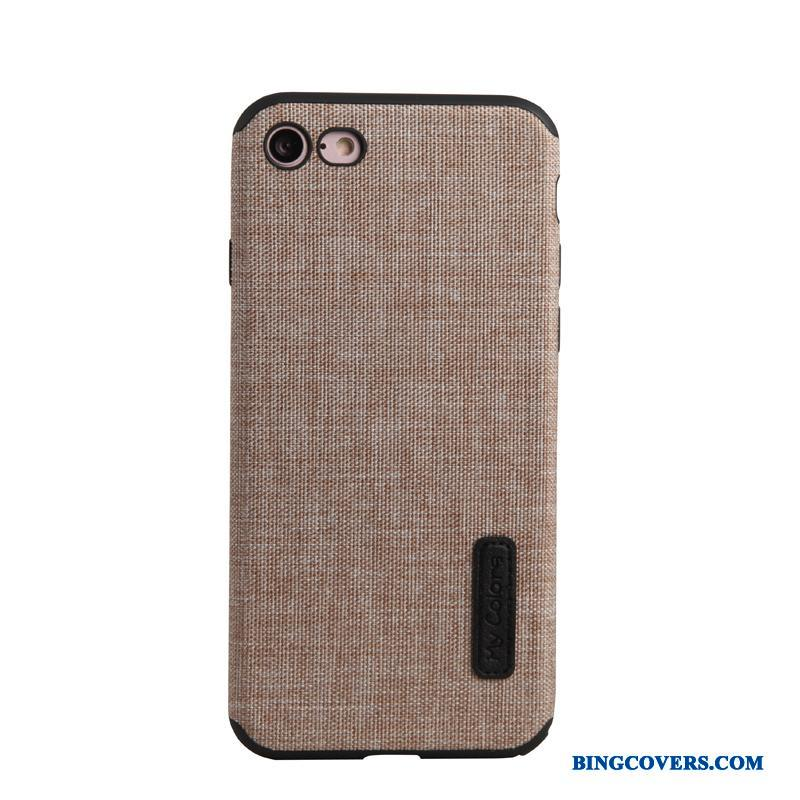iPhone Se Cover Khaki Etui Telefon Flannel Simple Trend