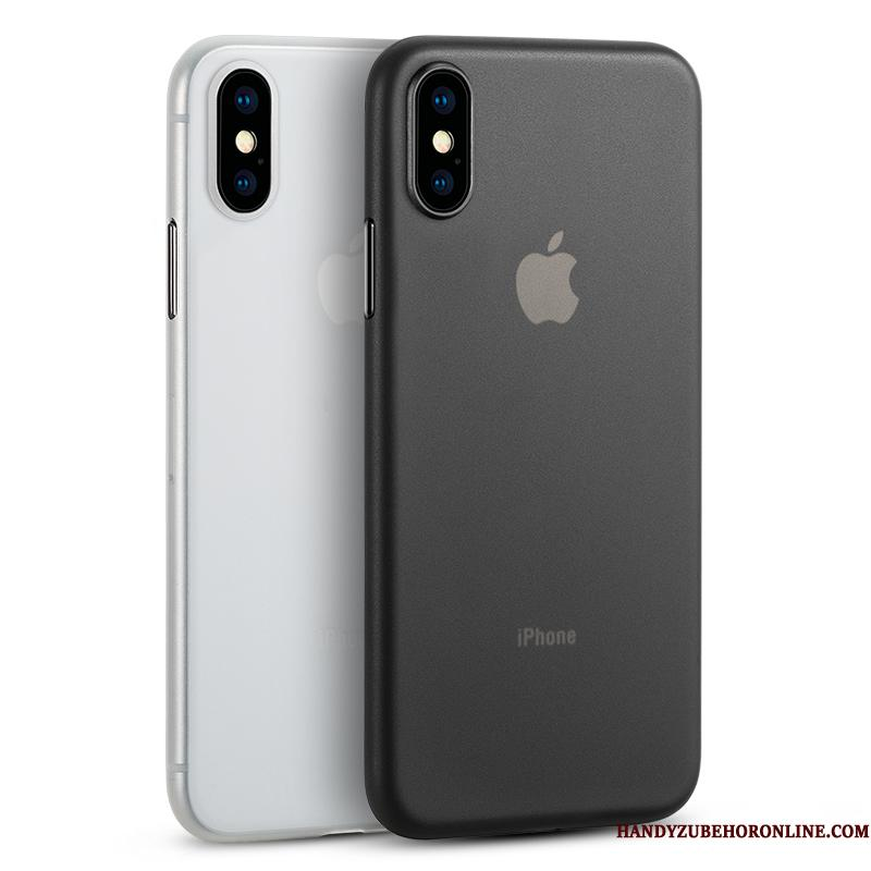 iPhone Xs Telefon Etui Beskyttelse Nubuck Business Alt Inklusive Sort Trendy